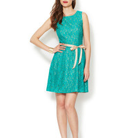 Ava & Aiden Lace Swing Dress