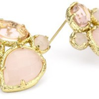 "Kendra Scott ""Timeless"" 14K Gold Plated Carmella Petal Earrings"