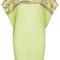 Lime Embroidered Cover Up - New In This Week  - New In