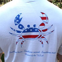 Patriotic Crab Tee by Coast