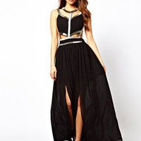 True Decadence Maxi Dress with Embellishment at asos.com