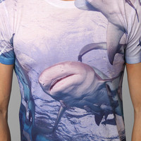 Sharks Allover Tee