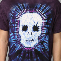 Skull Tie-Dye Tee
