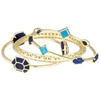 Beverly Bangle Bracelets in Noir - Kendra Scott Jewelry