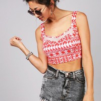 Tribe Vibe Crop Top | Crop Tops at Pink Ice