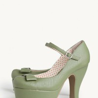 Penelope Indie Platform Pumps at ShopRuche.com