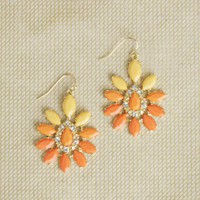 Summer Citrus Earrings at ShopRuche.com