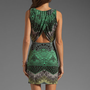 Mara Hoffman Printed Keyhole Mini Dress in Desert Black from REVOLVEclothing.com