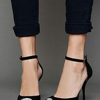 Jeffrey Campbell  Pristine Heel at Free People Clothing Boutique