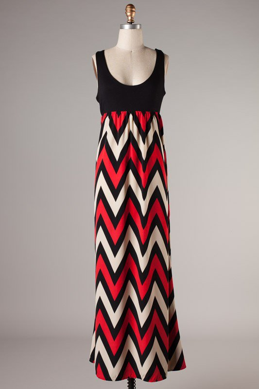 Red and white chevron dress. Cute for the of July with a blue bubble necklace or flats! Find this Pin and more on Chevron dresses (red and white) by Kim Shepard. Perfect for any wardrobe! Perfect for bridal or baby showers or a beautiful spring day!