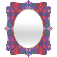 DENY Designs Home Accessories | Paula Ogier Coral Sea 2 Quatrefoil Mirror