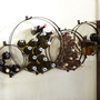 Circles Wall-Mount Wine Rack