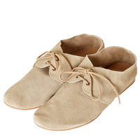 MELIN Suede Lace Up Shoes - View All - Shoes - Topshop USA