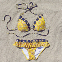 The Spool Swim Moroccan Nights Bikini, Sweet Bohemian Swim Suits & Bikinis