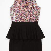 Flowers by Zoe Peplum Dress (Big Girls) | Nordstrom