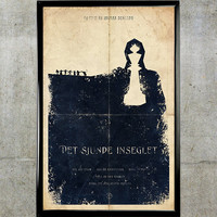 The Seventh Seal 11x17 Movie Poster