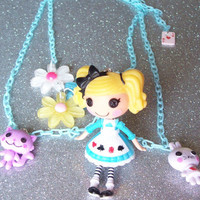 Lalaloopsy Alice in Wonderland Charm Necklace from On Secret Wings