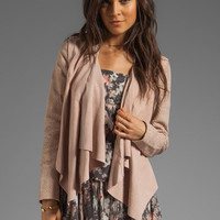 Winter Kate Marchen Jacket in Latte from REVOLVEclothing.com