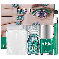 nails inc. Bling It On Emerald Kit: Shop Nail Sets | Sephora