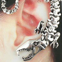wwwbeautycall — Abnormity scorpion king earrings