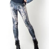 Super Stretch Leggings in Chinese Ink Print