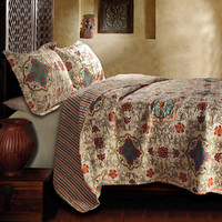 Esprit Spice 3-Piece Quilt Set | Overstock.com