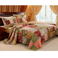 Antique Chic Full/ Queen-size 3-piece Quilt Set | Overstock.com