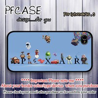 Characters of Pixar : Case For Iphone 4/4s ,5 / Samsung S2,3,4