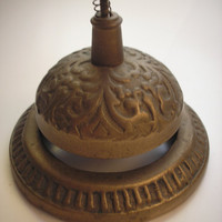 Vintage Ornate Three-Inch Shopkeeper&#x27;s Service Bell - home, office, business decor