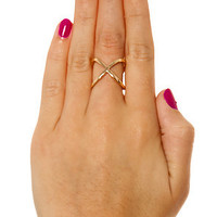 DuartsnJem The X Ring in Gold : Karmaloop.com - Global Concrete Culture