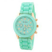 Candy Colored Silicone Sports Watch for Summer