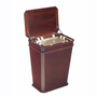Selamat Designs Fluted Mahogany Laundry Hamper at BrookstoneBuy Now!