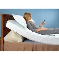 The Remote Controlled Adjustable Incline Mattress Wedge - Hammacher Schlemmer