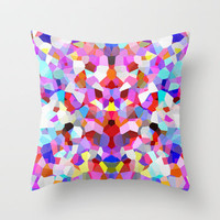 Flutter Throw Pillow by Glanoramay