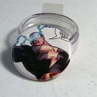 Comic Book 1.5&quot; Button// Black Adam