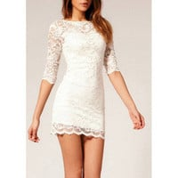 Hey, Showme — Lace Bodycon Dress