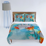 DENY Designs Home Accessories | Iveta Abolina Coral Duvet Cover