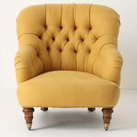 Linen Corrigan Chair by Anthropologie