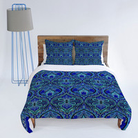 DENY Designs Home Accessories | Aimee St Hill Ogee Blue Duvet Cover
