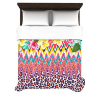 "Aimee St. Hill ""Grow"" Duvet Cover 