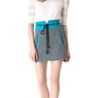 Milly Roberta Tweed Skirt | SHOPBOP