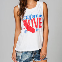 ELEMENT Cali Love Womens Muscle Tank 213442150 | Graphic Tees &amp; Tanks | Tillys.com