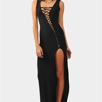 Moonrise Maxi Dress - Black