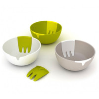 Hands-On Salad Bowl + Servers - A+R Store