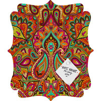 DENY Designs Home Accessories | Aimee St Hill Paisley Orange Quatrefoil Magnet Board
