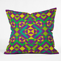 DENY Designs Home Accessories | Arcturus Quadrilaterals Throw Pillow