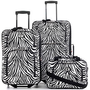 Zebra Luggage, 3 Piece Set - Luggage Sets - luggage - Macy&#x27;s
