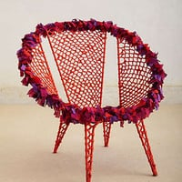 Anthropologie - Tufted Circle Chair