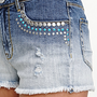 Kendall &amp; Kylie High Rise Embellished Shorts at PacSun.com