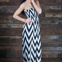 Can't Get Enough Chevron Maxi